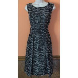 Metallic Tweed Dress